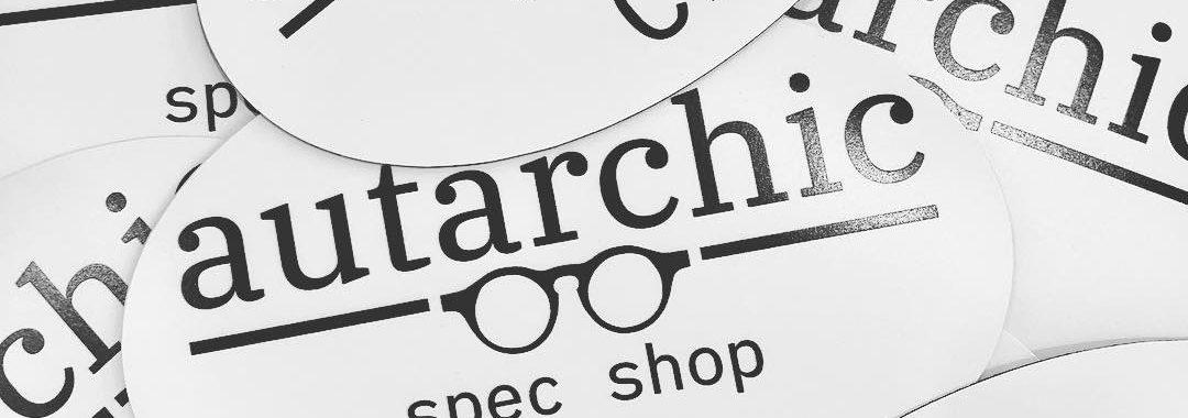 bumper stickers on Autarchic Spec Shop