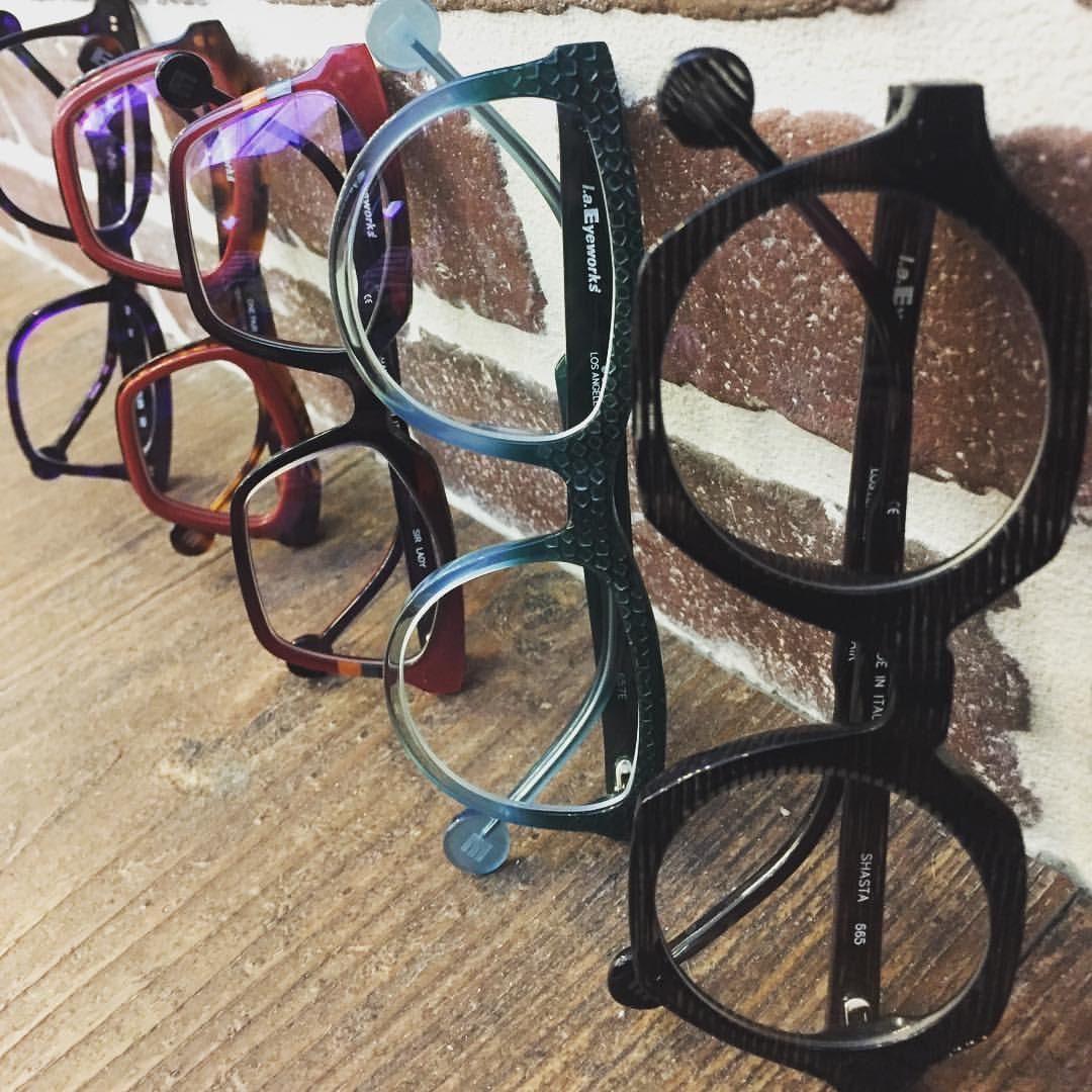 L.A. Eyeworks, high end designer glasses in Charlotte, NC